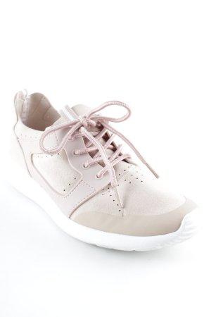 Reserved Schnürsneaker rosé-nude sportlicher Stil