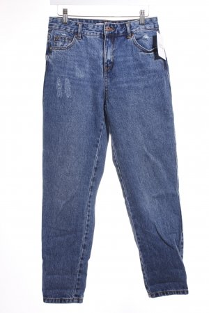 Reserved Straight-Leg Jeans dunkelblau Casual-Look