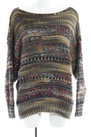 Reserved Strickpullover abstraktes Muster Street-Fashion-Look