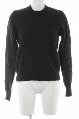 Reserved Strickpullover schwarz Casual-Look