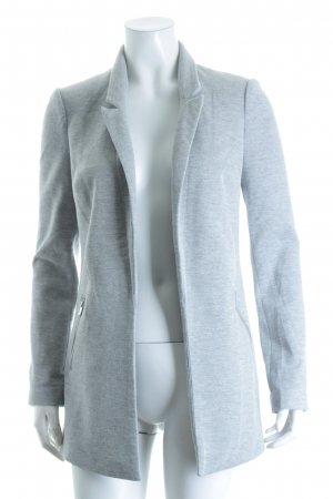 Reserved Sweatblazer hellgrau meliert Casual-Look