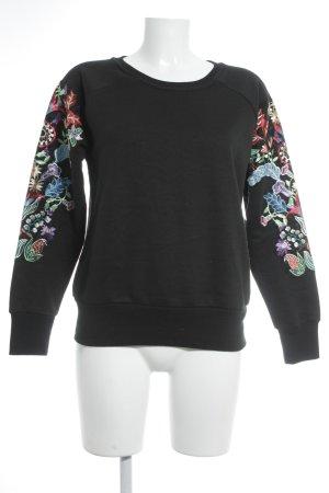 Reserved Sweatshirt florales Muster Casual-Look