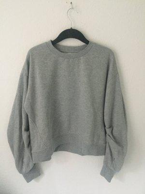 Reserved Suéter color plata-gris claro