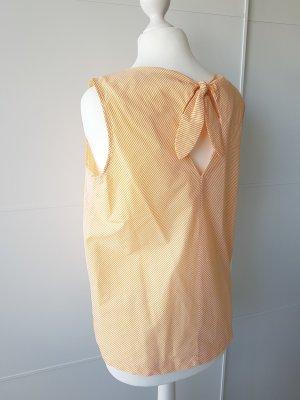 Reserved Blouse topje wit-goud Oranje