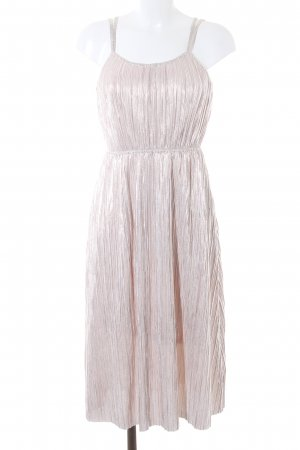 Reserved Trägerkleid rosé-silberfarben Elegant