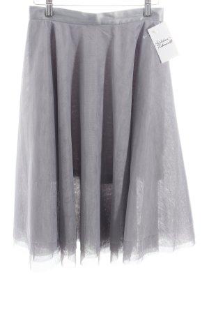Reserved Jupe en tulle gris violet style festif