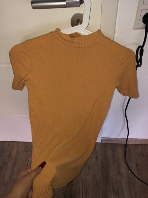 Reserved Ribbed Shirt light orange-apricot