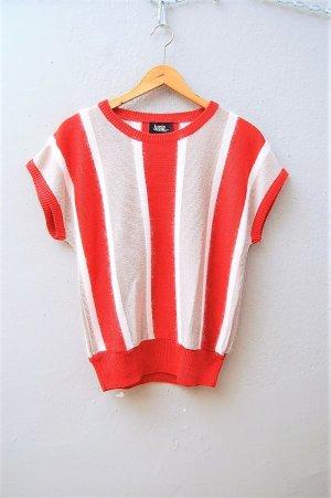 RESERVIERT!!! 80er Vintage Angora Strick Shirt