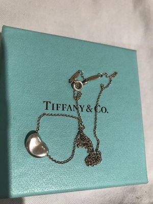 RESERVIERT FÜR A. Tiffany & Co Elsa Peretti Bean Pendant Kette aus 925 Sterling Silber
