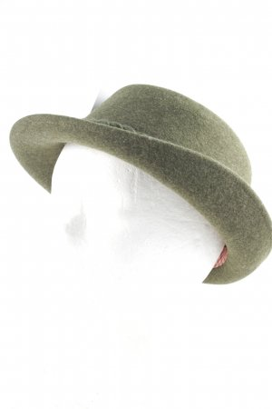 Resi Hammerer Traditional Hat forest green-natural white classic style