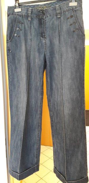 Authentic Jeans a zampa d'elefante grigio ardesia