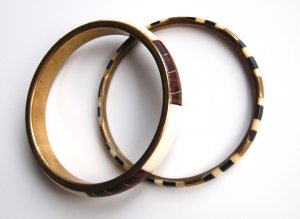 Retro Bangles im Set