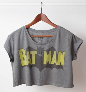 Retro Batman Crop Top