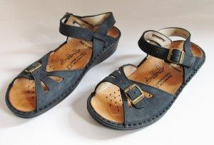 Finn Comfort Comfort Sandals dark blue leather