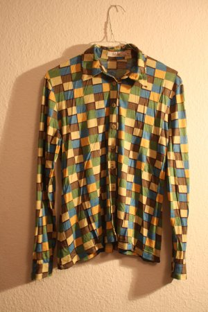 Retro Bluse im 60ies Look zum Knöpfen von INWEAR