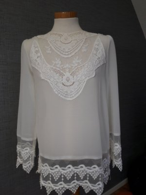 Aniston Blusa blanco-crema