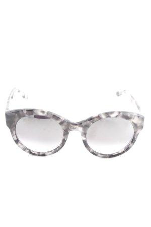 Retro Brille mehrfarbig Elegant