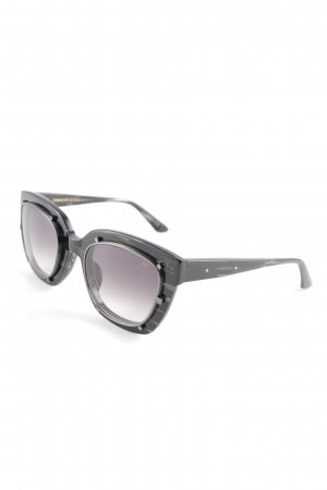 Retro Brille schwarz Retro-Look