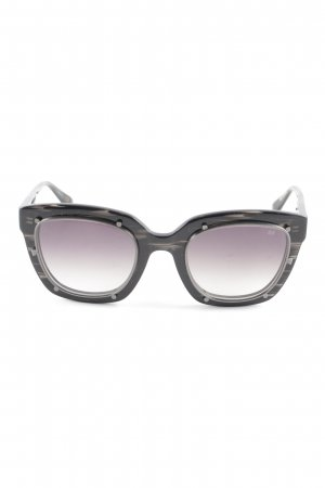 Robert La Roche Retro Brille schwarz Retro-Look