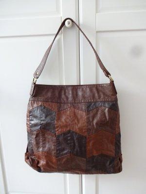 retro Handtasche patchworkdesign von H&M