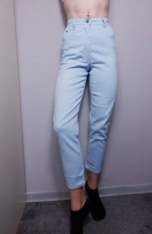 Vintage Jeans carotte bleu clair