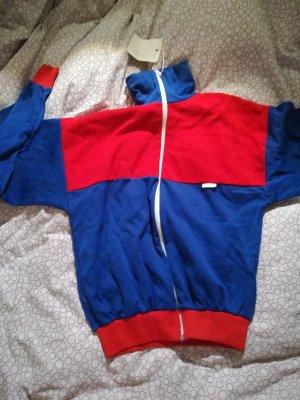 Sweat Jacket red-blue