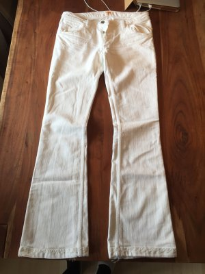 Antik Denim Jeans white cotton