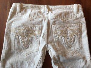 Retro Jeans aus USA * Einzigartig ! HANDARBEIT ! Mit Stickerei