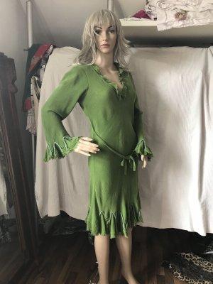Retro Kleid Gr 38, Trompeten Ärmeln