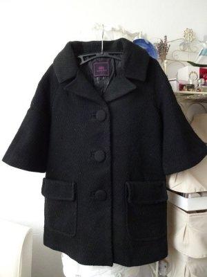 retro Mantel mit ausgefallenen detailen oversize