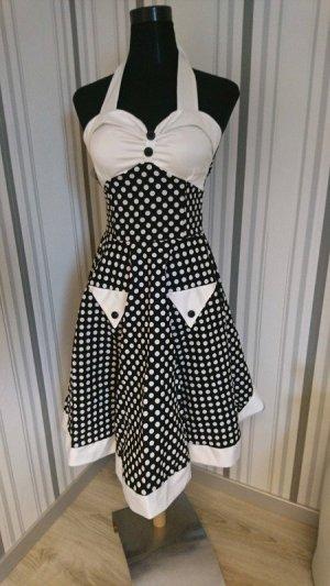 Retro Neckholder Kleid Größe 40