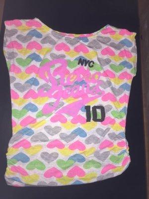 Retro Brand Top linea A multicolore