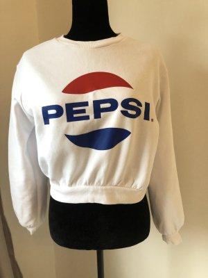 Retro Pepsi Sweater Crop Pullover