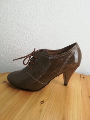Bottines gris brun-marron clair