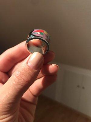 Retro Ring mit Muster