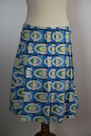 Promod Plaid Skirt multicolored cotton