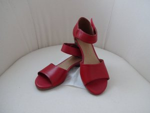 retro Sandalen klassisch rot