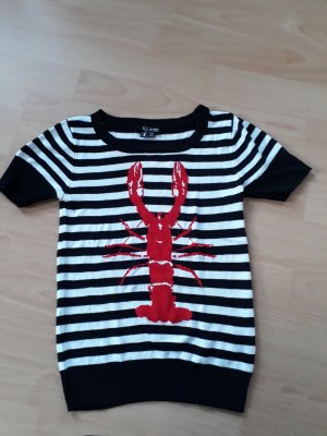 Hell Bunny Gestreept shirt veelkleurig Viscose