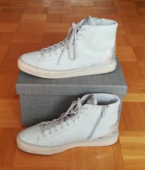 Retro-Sneaker mit Silberfarbenem Einsatz von Esprit