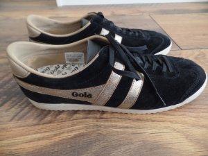 Retro Sneaker von Gola, schwarz - gold, Gr. 41