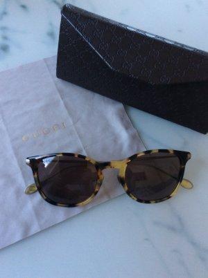 Retro Sonnenbrille im Leolook,  Gucci