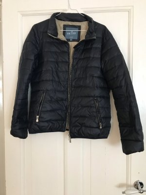 Retro Brand Quilted Jacket multicolored