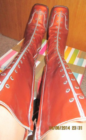 Xside Gothic Boots russet leather