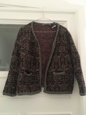 Retro Strickjacke