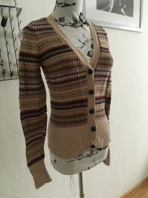 Retro Strickjacke Strickcardigan