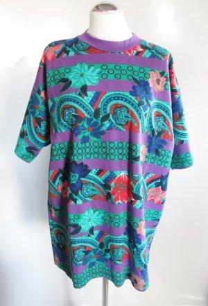 T-shirt multicolore coton