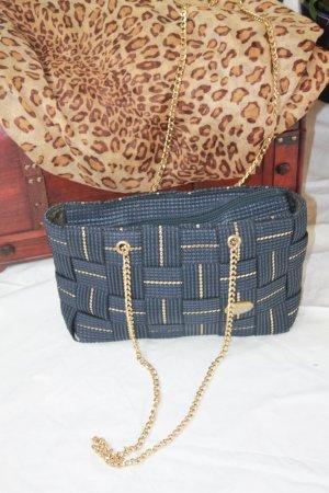 RETRO Tasche in blau Creazioni Alma Made in Italy