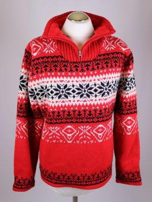 Norwegian Sweater multicolored mixture fibre