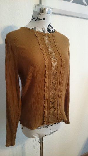 Retro Vintage Spitzen Bluse
