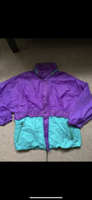 Regenjas lichtblauw-lila